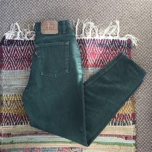 Vintage slim tapered Levi's
